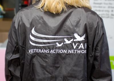 Veteran's Action Network: Windbreaker Jacket
