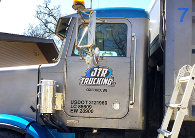JTR Trucking: Vehicle Vinyl