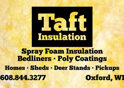 Taft Insulation: Business Card