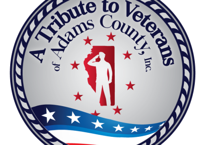A Tribute to Veterans of Adams County: Logo
