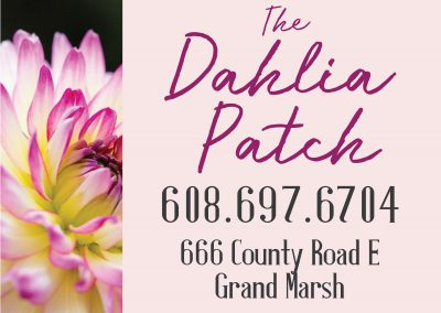 The Dahlia Patch: Site Sign