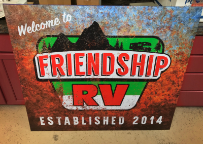 Friendship RV: Sign 1