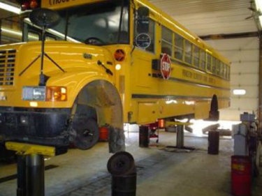 school bus repair