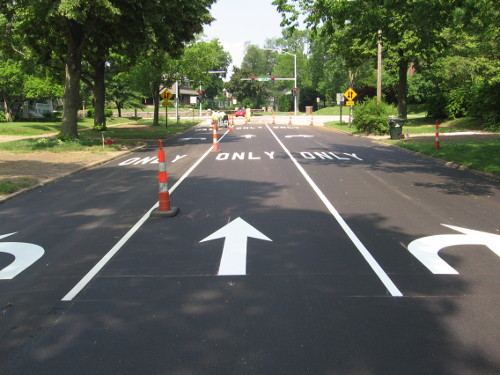 Paving Markings