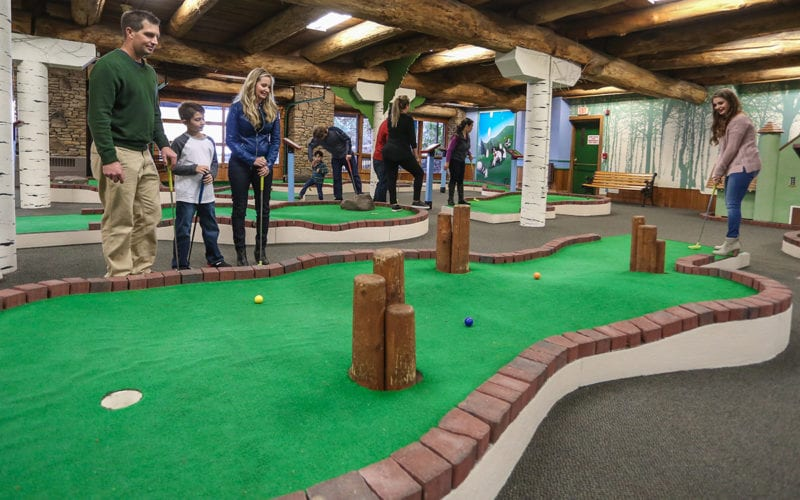 Miniature Golf at Seven Springs