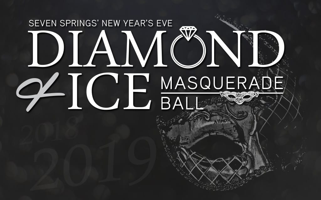 new years eve diamond ice masquerade ball