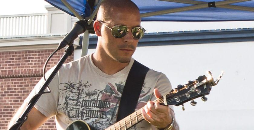 Musician Mark Ferrari