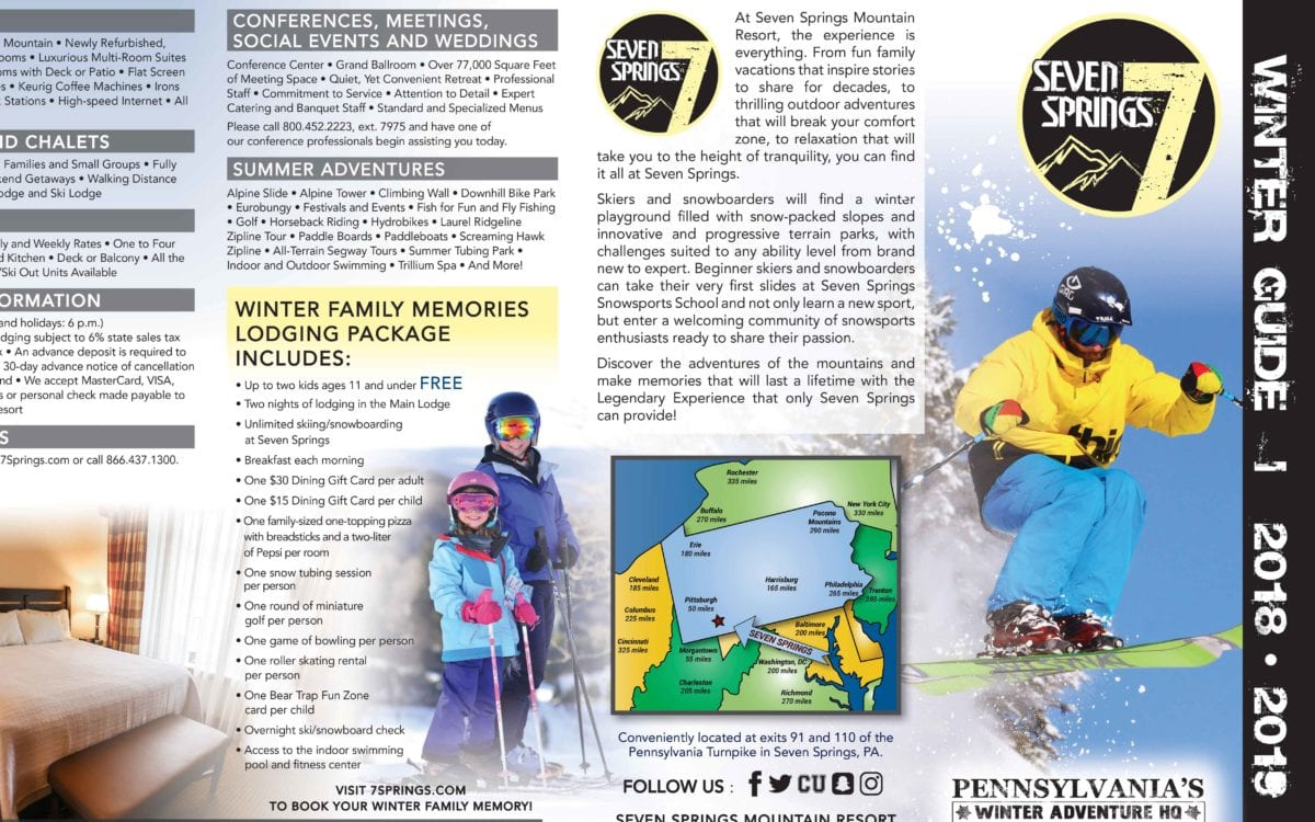 brochures | seven springs mountain resort | pa pennsylvania ski