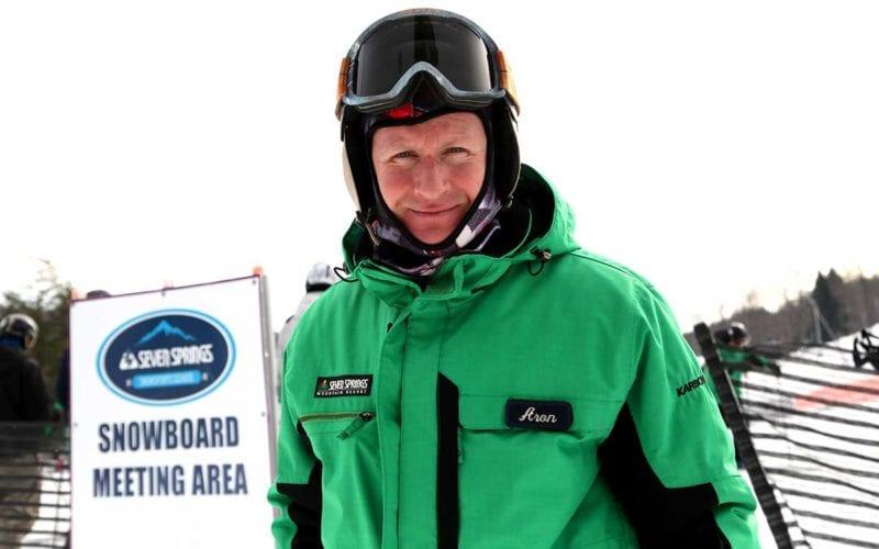 Aron Bergman - Skier - Tiny Tots' Instructor