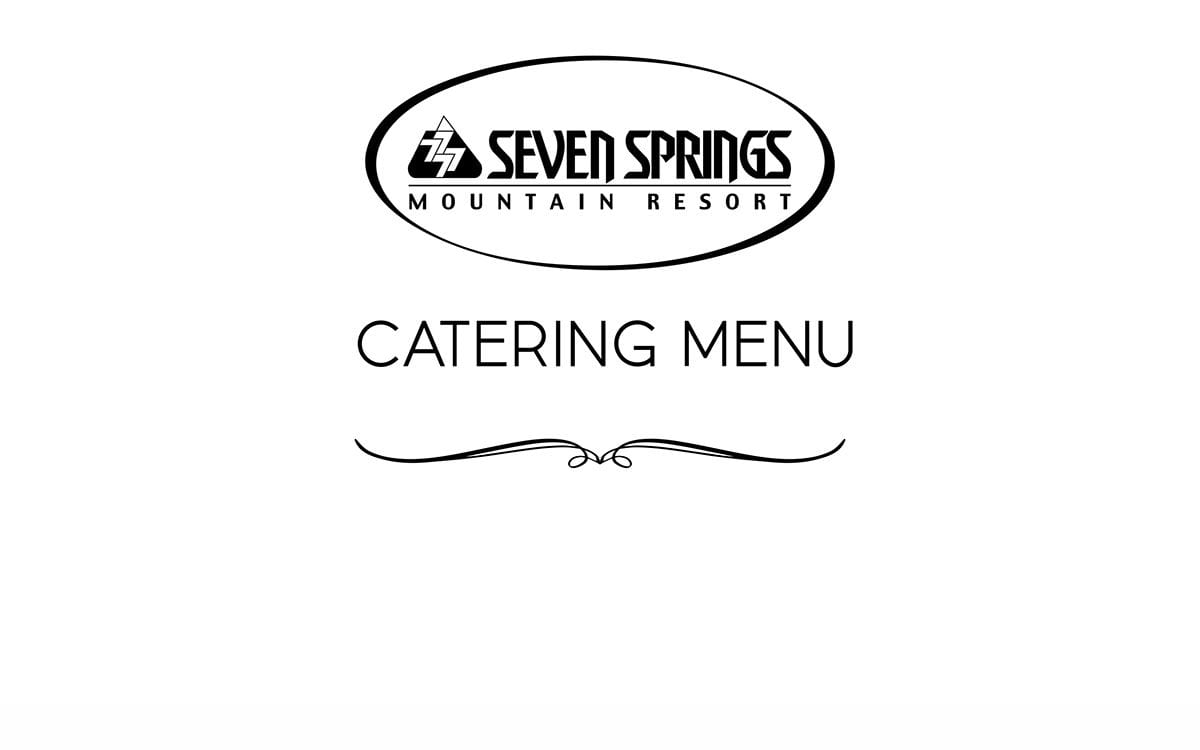 Download the Catering Menu