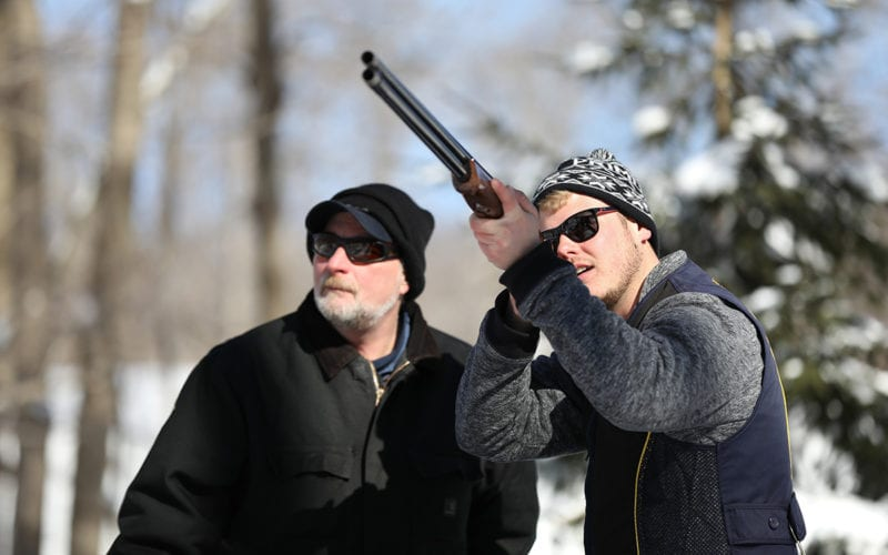Sporting Clays in the Winter