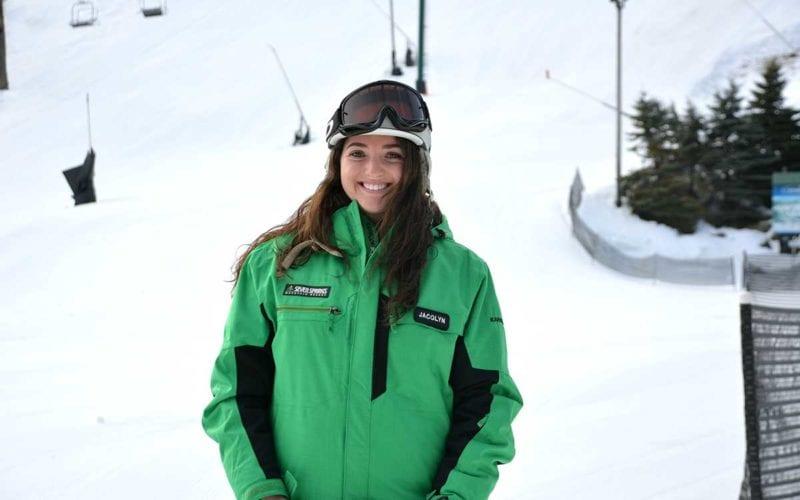 Jacqlyn Knox - Skier - Tiny Tots' Instructor