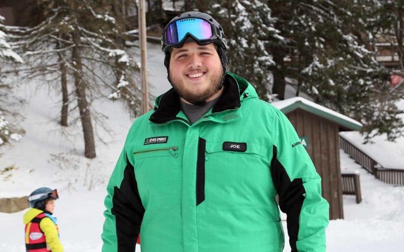 Joe Rauscher - Skier - Tiny Tots' Instructor