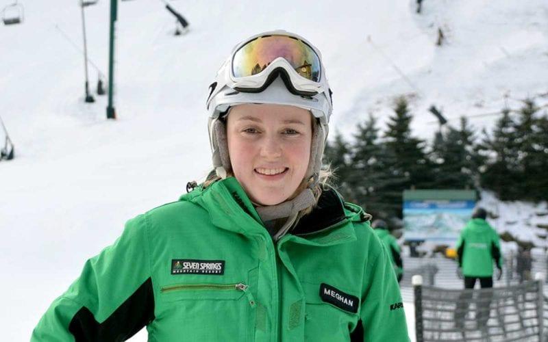 Meg Irvine - Skier - Tiny Tots' Instructor