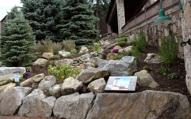Rain Garden at Seven Springs