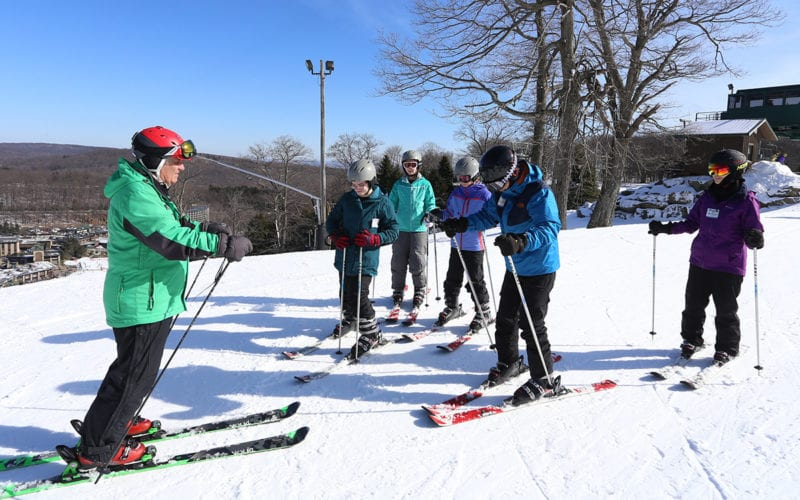 Snowsports Lessons ages 8-15