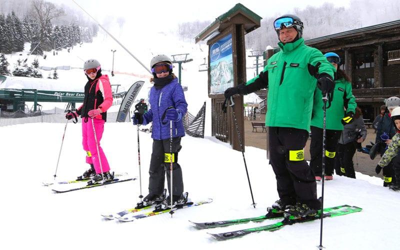 Snowsports Lessons ages 8-15