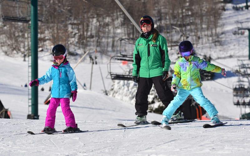 Tiny Tots Snowsports Lesson