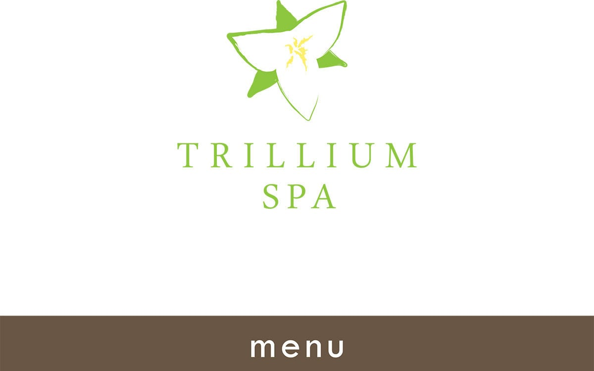 Download the Trillium Spa Menu