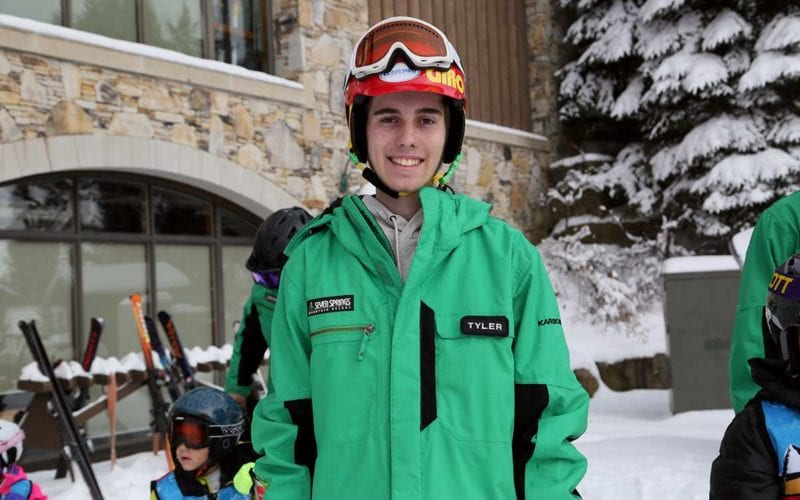 Tyler Grimes - Skier - Tiny Tots' Instructor