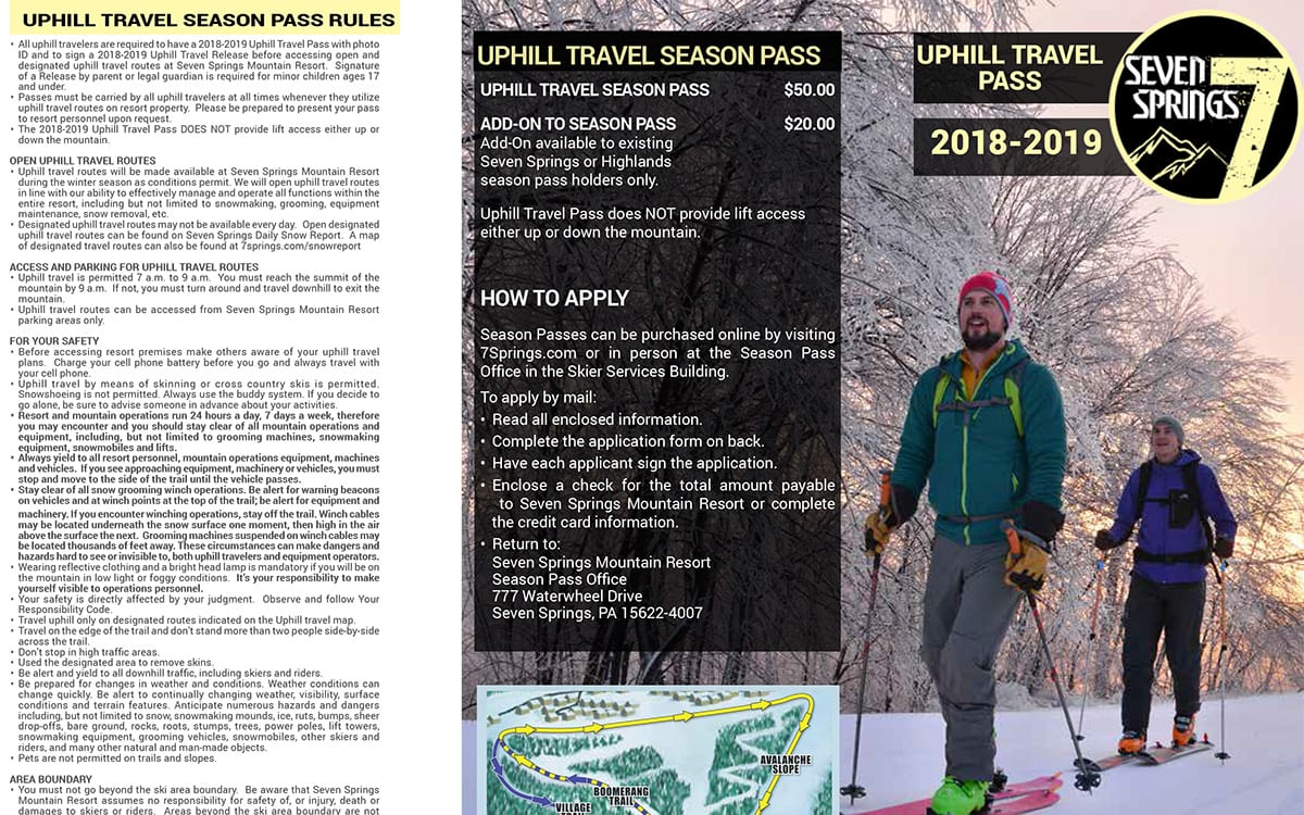 Uphill Travel Pass Application