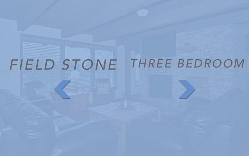 Fieldstone & Three Bedroom Chalet