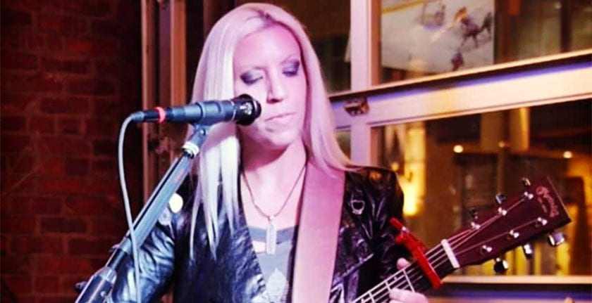 Musician Shelley Duff
