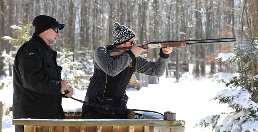 Snowman Fun Shoot at Sporting Clays