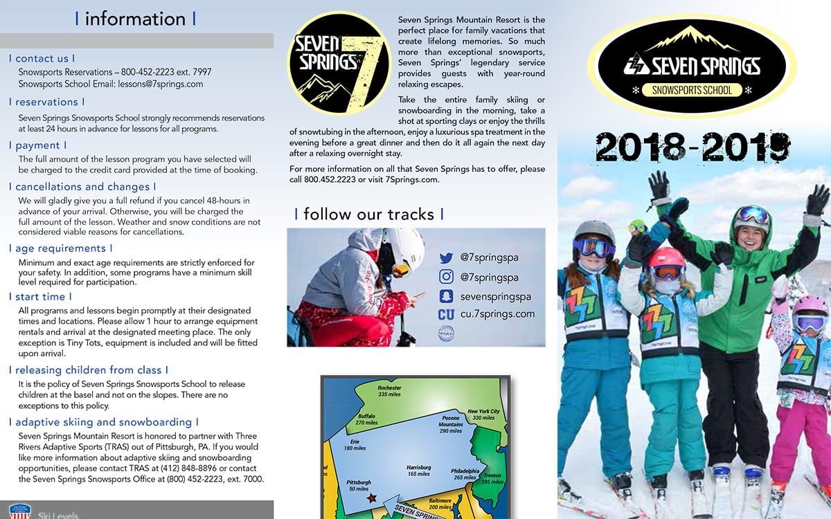 Snowsports School Brochure