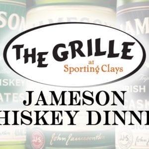 Jameson Whiskey Dinner