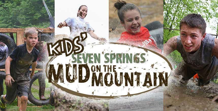 Kids Mud on the Mountain