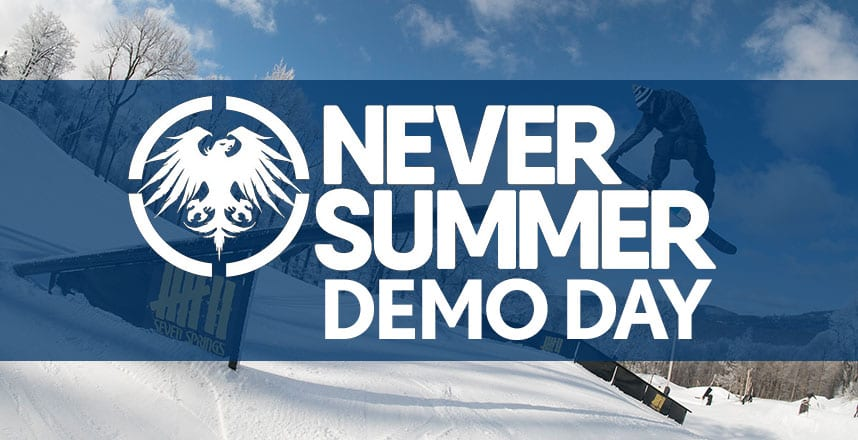 NEver Summer Snowboard Demo Day