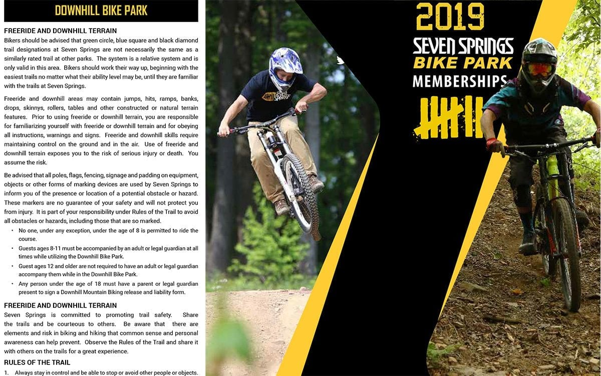 Bike Park Membership Application