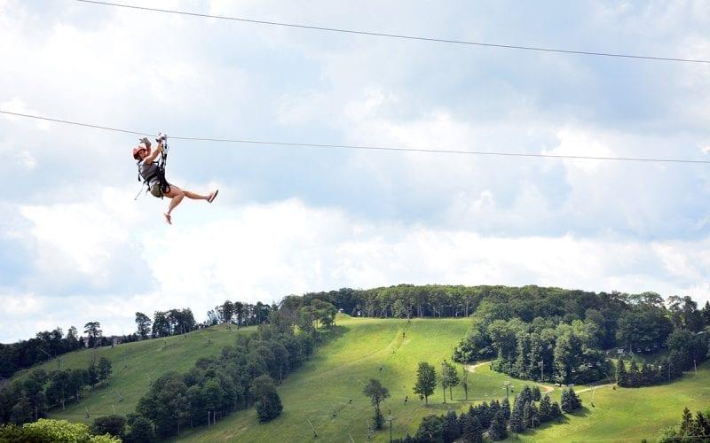 Screaming Hawk Zipline