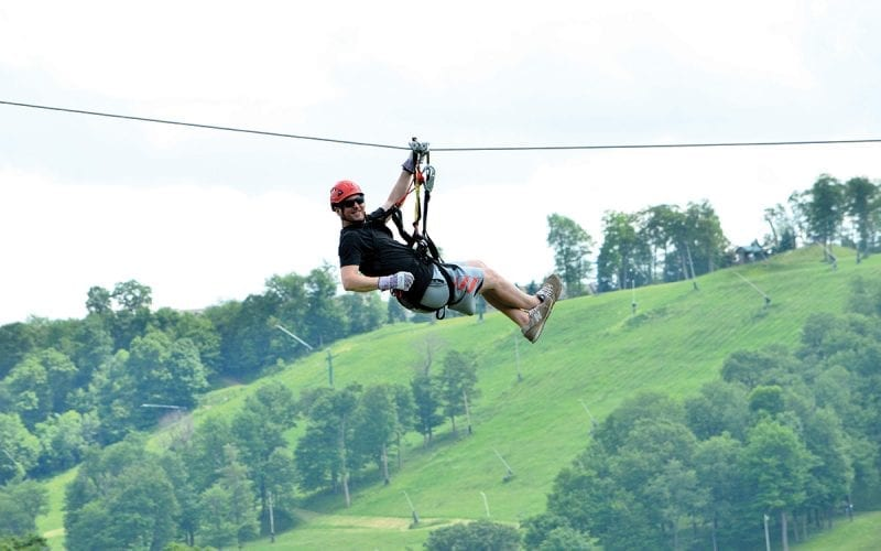Screaming Hawk Zipline