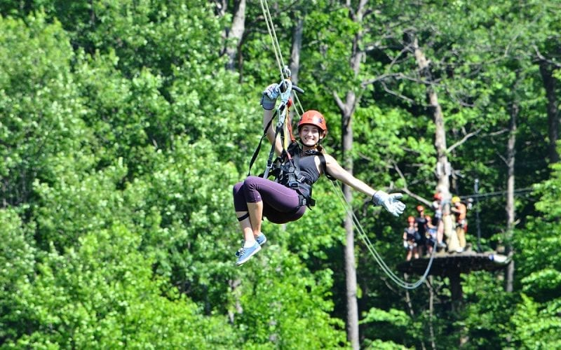 Laurel Ridgeline Zipline
