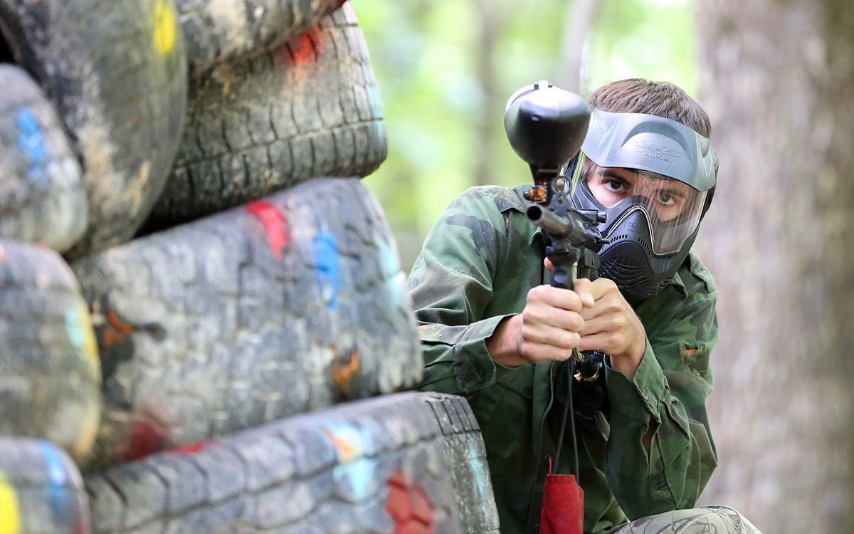 Paintball Gameplay at Seven Springs
