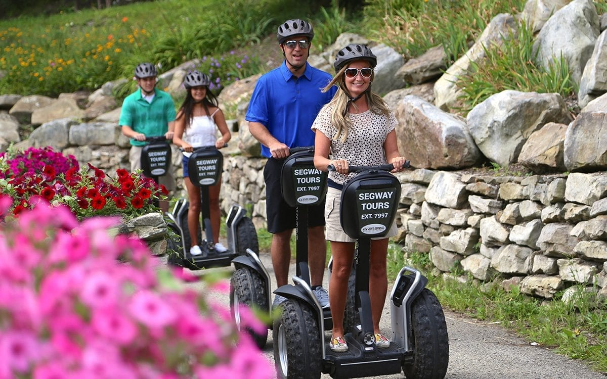 All Terrain Segway Tours at Seven Springs