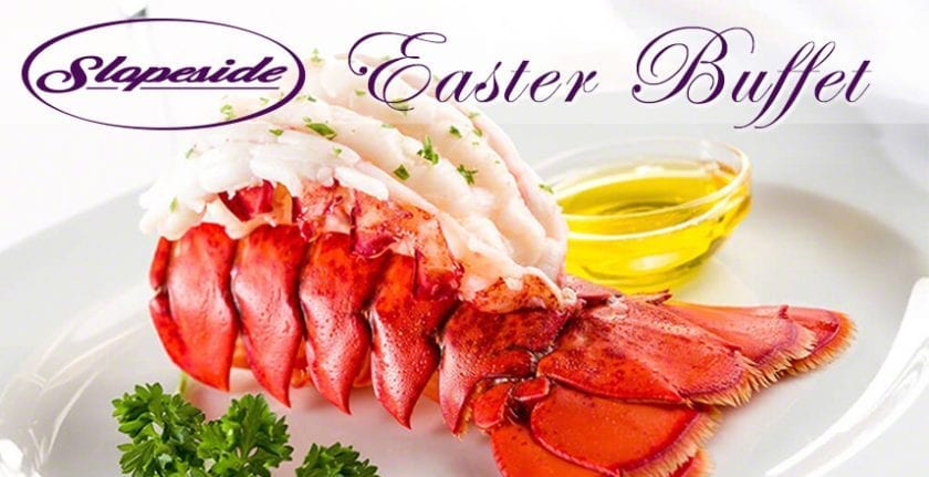 Easter Buffet at the Slopeside