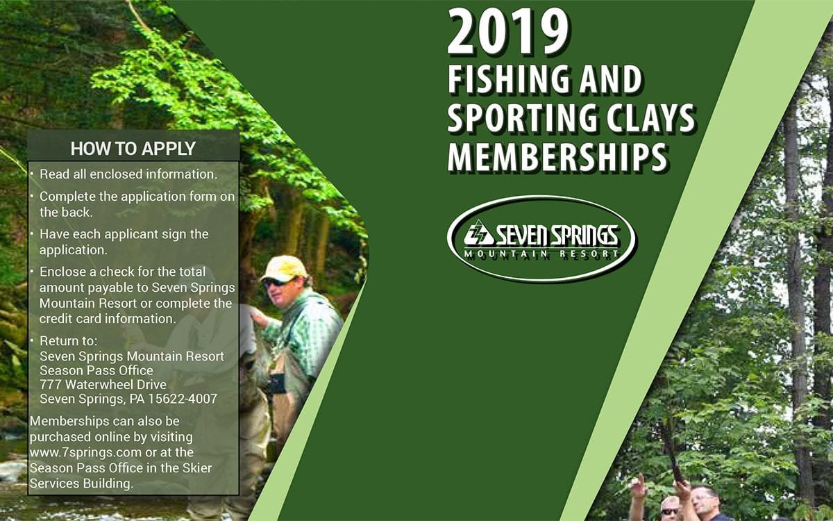 Sporting Clays & Fishing Memberships