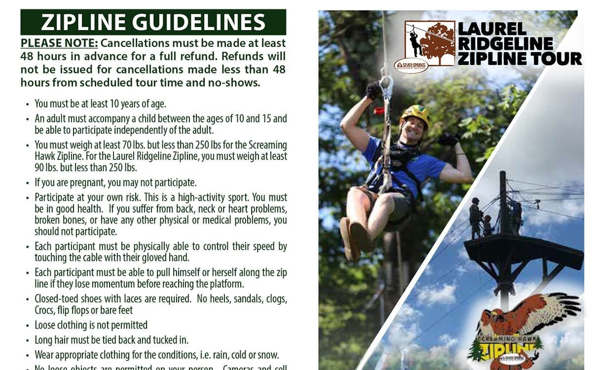 Laurel Ridgeline & Screaming Hawk Ziplines