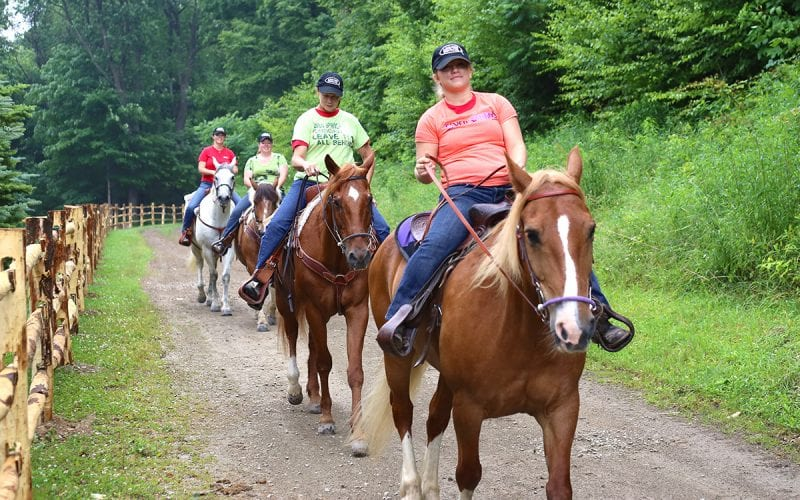 Seven Springs Stables Horseback Riding
