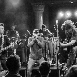 Musician Jim Donovan and the Sun King Warriors