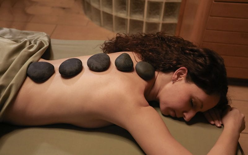 Hot Stone Massage at Trillium Spa