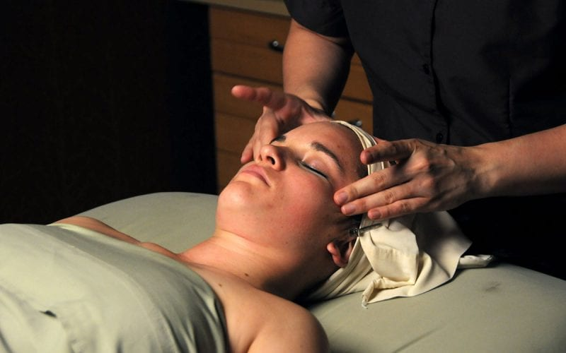 Facial Treatment at Trillium Spa