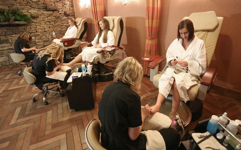 Pedicure at Trillium Spa