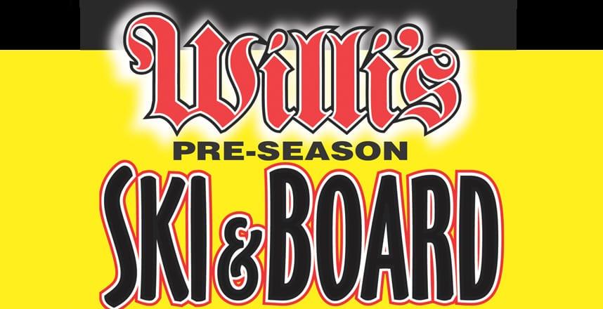 Willi's Pre-Season Ski & Board Sale