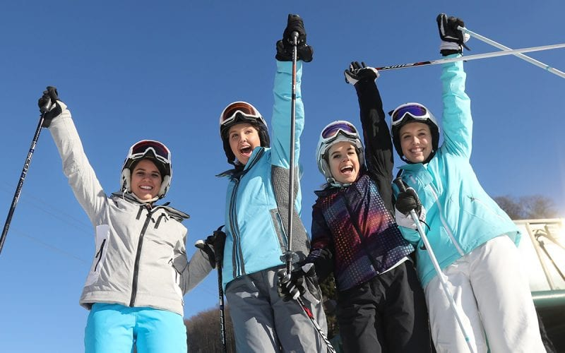 Group of skiiers