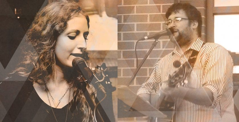 Musicians Helana and Chris