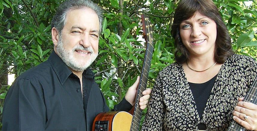 Musicians Tim & Stacey